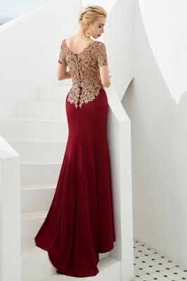 Abendkleider Lang Glitzer | Rote Abiballkleider Mit Ärmel_3