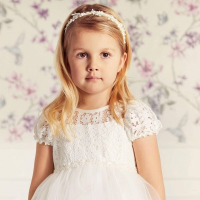 Flower Girl Dresses Long Tulle | Flower girl dresses for children_3