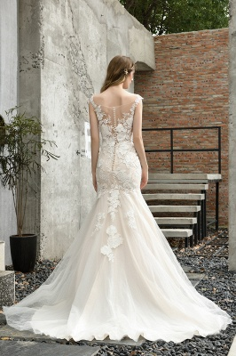 Gorgeous Wedding Dresses With Lace | Mermaid wedding dresses_11