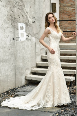 Modern wedding dress mermaid | Wedding dresses circumstance_7