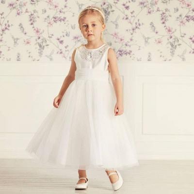 Blumenmädchenkleider für Kinder | Blumenmädchen Kleider Hochzeit_4