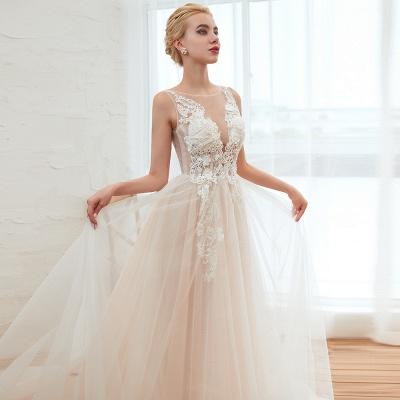 Schöne Hochzeitskleid A linie | Brautkleider Günstig Online Kaufen_19