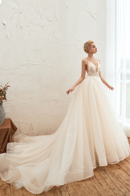Elegant wedding dresses A line | Wedding dresses with lace online_11