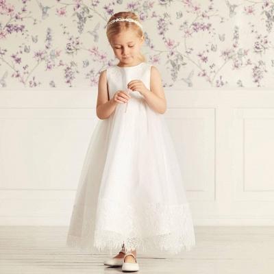 Simple dresses for wedding | Flower girl dresses cheap_4