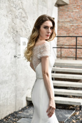 Mermaid wedding dresses | Wedding dress with lace_12