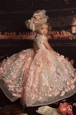 Flower girl dress dusty pink | Flower girl dresses for children_2