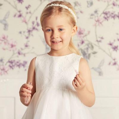 Simple dresses for wedding | Flower girl dresses cheap_3