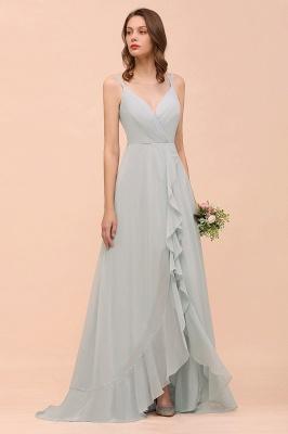 Brautjungfernkleider Lang Mint Grün | Hochzeitspartykleider Günstig Online_4