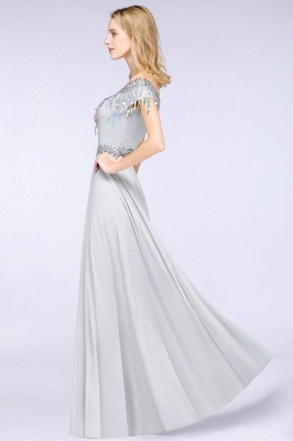 Beautiful evening dresses with sleeves   Prom dresses long cheap_5