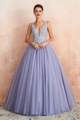 Designer Evening Dress Long V Neck | Evening wear online_2