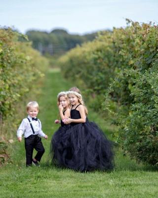 Blumenmädchenkleider für Kinder   Blumenmädchen Kleider Hochzeit_2