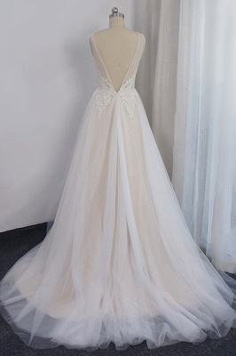 Elegant wedding dresses with lace | Wedding Dress A Line Online_3