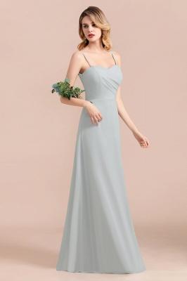 Schlichtes Abendkleid Chiffon | Brautjungfernkleider Lang Günstig_7