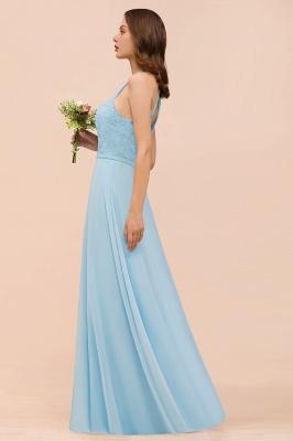 Himmel Blau Brautjungfernkleider Lang Günstig   Kleider Für Brautjungfern_9