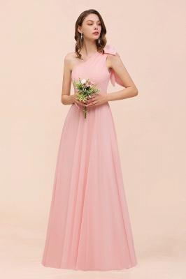 Brautjungfernkleider Lang Rosa   Chiffon Kleider Brautjungfern Günstig_4