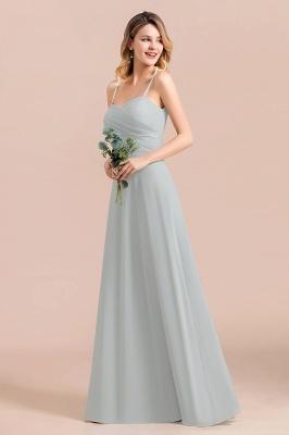 Schlichtes Abendkleid Chiffon | Brautjungfernkleider Lang Günstig_10