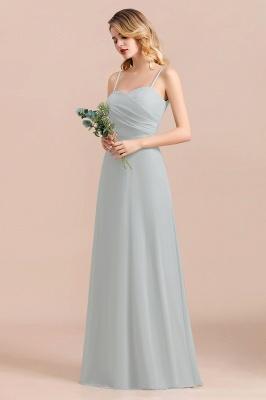 Schlichtes Abendkleid Chiffon | Brautjungfernkleider Lang Günstig_8