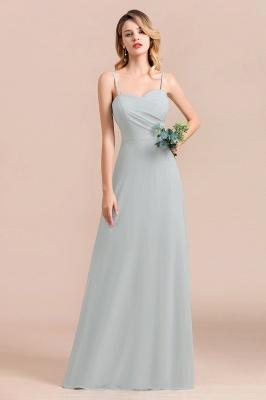Schlichtes Abendkleid Chiffon | Brautjungfernkleider Lang Günstig_9