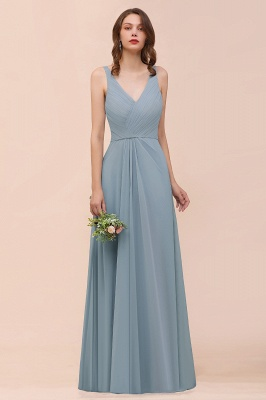 Dunty Blue Brautjungfernkleider Günstig | Hochzeitspartykleider Brautjungfern_1