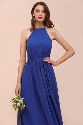 Günstige Brautjungfernkleider König Blau | Chiffon Kleider Hochzeitspartykleider_8