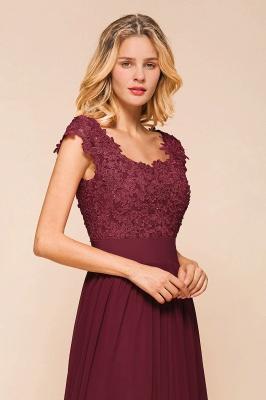 Designer evening dresses wine red | festive dresses floor length_9