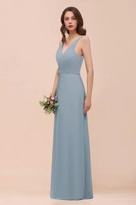 Dunty Blue Brautjungfernkleider Günstig | Hochzeitspartykleider Brautjungfern_9