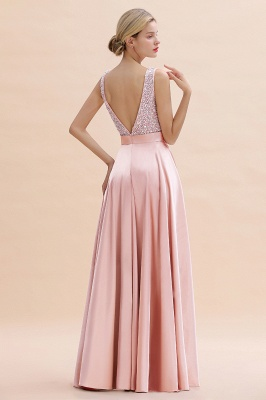 Evening dress long pink | Chiffon dresses prom dresses_14