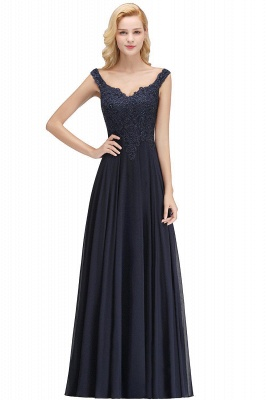 Evening dress long black | Evening wear online_7