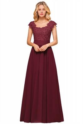 Designer evening dresses wine red | festive dresses floor length_3