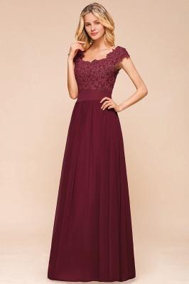 Designer evening dresses wine red | festive dresses floor length_8