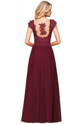 Designer evening dresses wine red | festive dresses floor length_16
