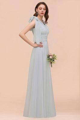 Silber Brautjungfernkleider Lang Günstig   Kleider Für Brautjungfern_6