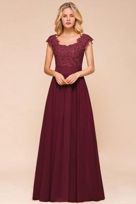 Designer evening dresses wine red | festive dresses floor length_14