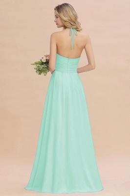 Brautjungfernkleider Lang Heller Blau | Kleider für Brautjungfern Günstig_2