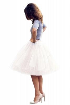 Crinoline Short A line | Petticoat wedding dress_21