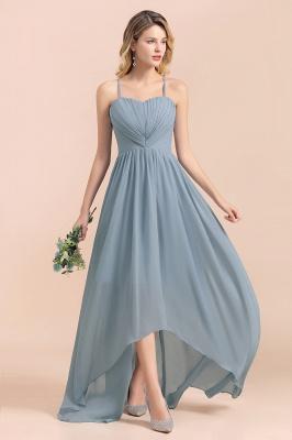 Brautjungfernkleider Lang Blau | Chiffon Kleider Hochzeitsgäste Kleider_6