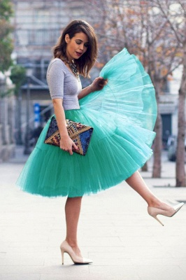 Crinoline Short A line | Petticoat wedding dress_59