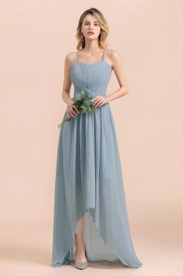 Brautjungfernkleider Lang Blau | Chiffon Kleider Hochzeitsgäste Kleider_4