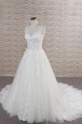 Simple wedding dresses with lace | Buy wedding dresses online_4