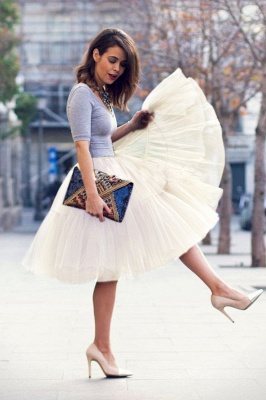 Crinoline Short A line | Petticoat wedding dress_63