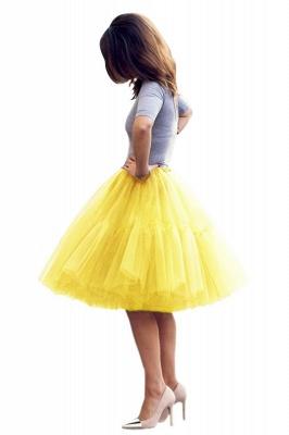 Crinoline Short A line | Petticoat wedding dress_43