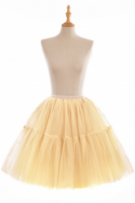 Crinoline Short A line | Petticoat wedding dress_9