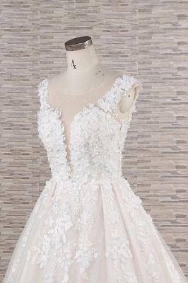 Fashion wedding dress A line | Wedding fashions with lace_6