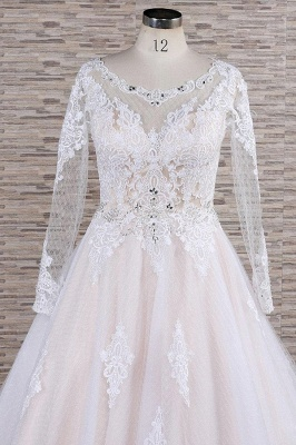 Luxury wedding dresses with lace | Wedding dresses with sleeves_5