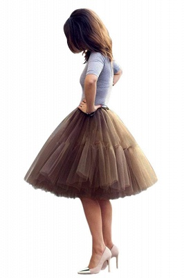 Crinoline Short A line | Petticoat wedding dress_7