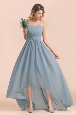 Brautjungfernkleider Lang Blau | Chiffon Kleider Hochzeitsgäste Kleider_7