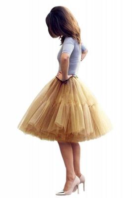 Crinoline Short A line | Petticoat wedding dress_49