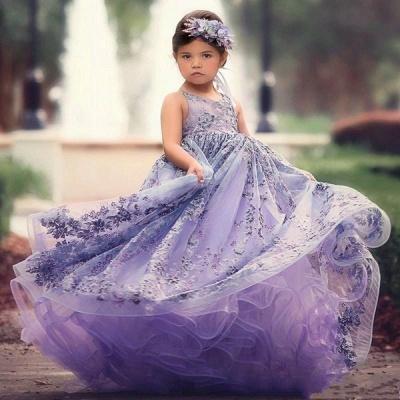 Blumenmädchenkleider für Kinder | Blumenmädchen Kleid Spitze_2