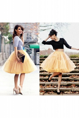 Crinoline Short A line | Petticoat wedding dress_68