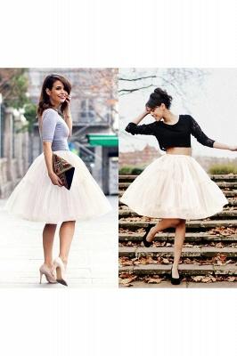 Crinoline Short A line | Petticoat wedding dress_23